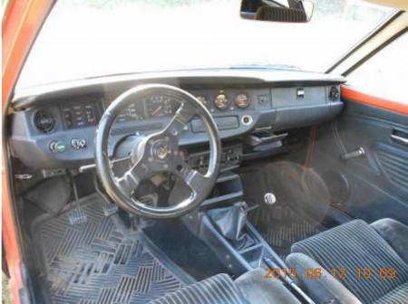 1974 Datsun B210 interior