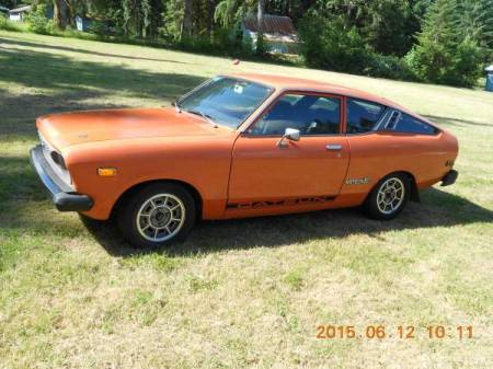 1974 Datsun B210 left front