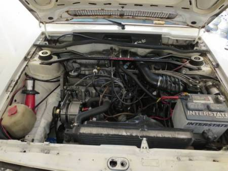 1978 VW Scirocco engine