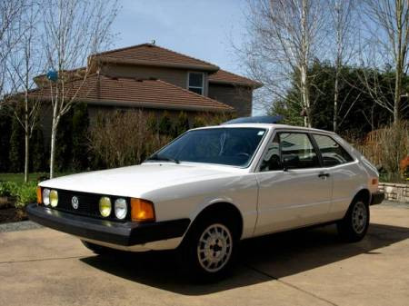 1978 VW Scirocco left front