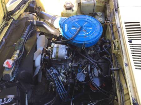 1979 Mazda RX-7 engine