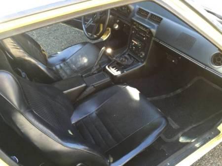 1979 Mazda RX-7 interior