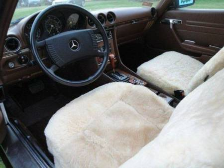 1979 Mercedes 450 SLC interior