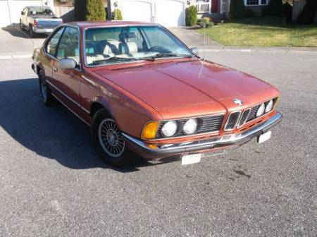 1980 BMW 633CSi right front
