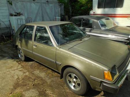 1984 Dodge Colt DL right front