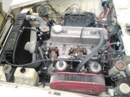 1969 Datsun 1600 Roadster engine