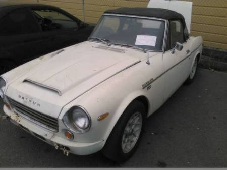 1969 Datsun 1600 Roadster left front