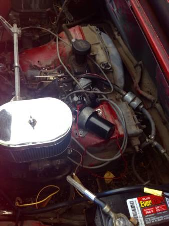 1972 Porsche 914 engine