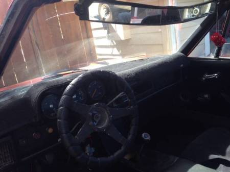 1972 Porsche 914 interior
