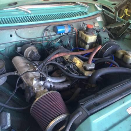 1972 Volvo 142E engine