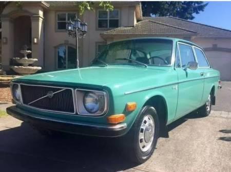 1972 Volvo 142E left front