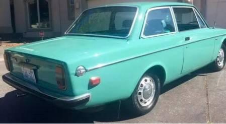 1972 Volvo 142E right rear