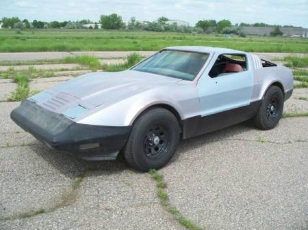 1975 Bricklin SV-1 left front