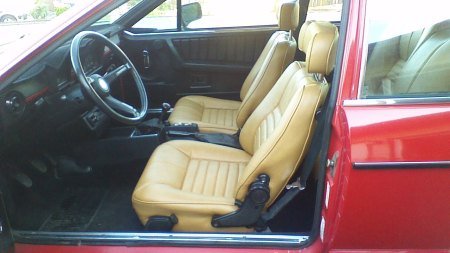 1977 Alfa Romeo Alfetta GT Larry L interior