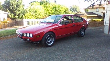 1977 Alfa Romeo Alfetta GT Larry L left front