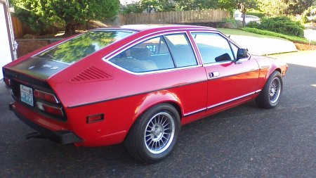 1977 Alfa Romeo Alfetta GT Larry L right rear
