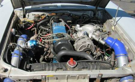 1977 Ford Pinto Cruising Wagon Turbo engine