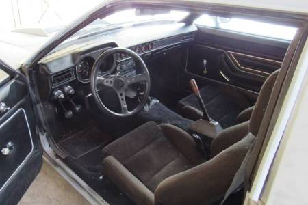 1977 Ford Pinto Cruising Wagon Turbo interior