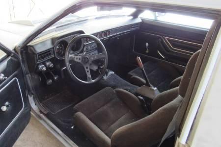 1977 Ford Pinto Cruising Wagon Turbo interior