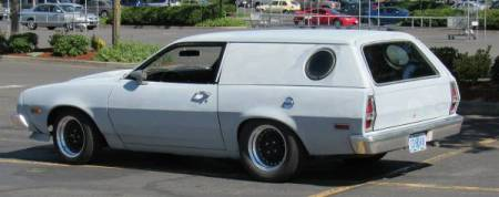 1977 Ford Pinto Cruising Wagon Turbo left rear