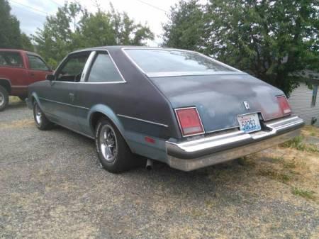 1978 Oldsmobile Cutlass 442 left rear