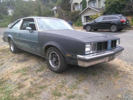 1978 Oldsmobile Cutlass 442 right front