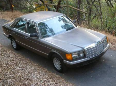 1982 Mercedes 280S right front