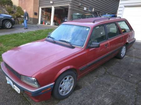 1991 Peugeot 505 DL Wagon left front