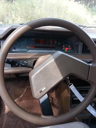 1985 Mitsubishi Tredia dash