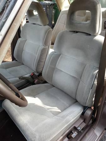 1985 Mitsubishi Tredia seats