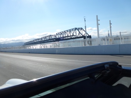 1 1977 Alfa Spider on SF Bay Bridge