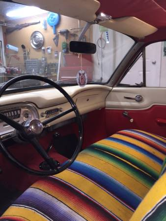 1960 Ford Falcon Tudor Wagon interior