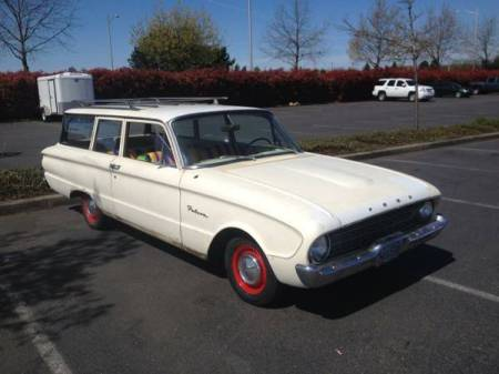 1960 Ford Falcon Tudor Wagon right front