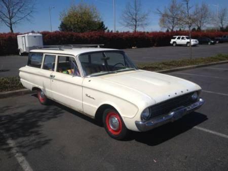 1960 Ford Falcon Tudor Wagon right front