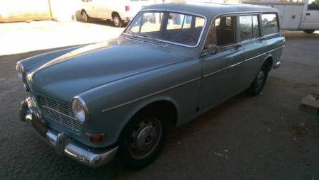 1965 Volvo 122S Wagon left front