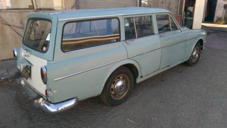 1965 Volvo 122S Wagon right rear
