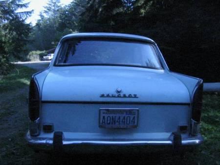 1969 Peugeot 404 rear