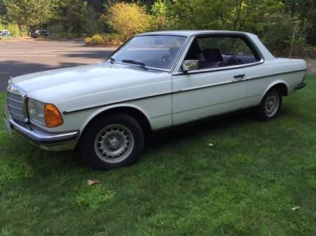 197 Mercedes 230C left front