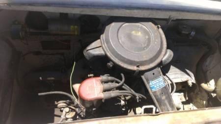 1970 Siata Spring engine