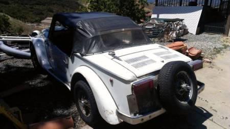 1970 Siata Spring left rear