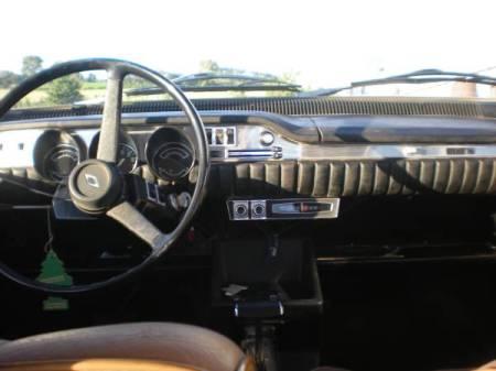 1971 Renault 12TL dash