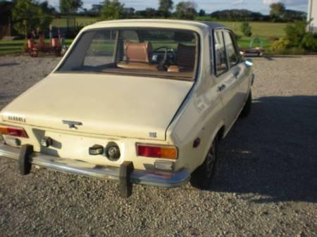 1971 Renault 12TL right rear