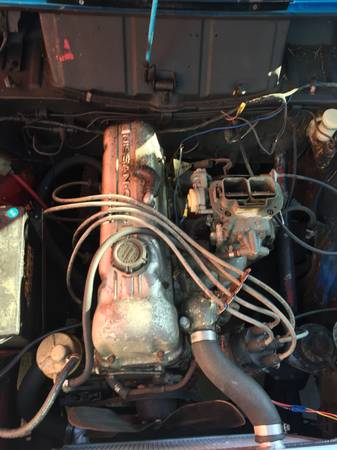 1972 Datsun 521 pickup engine