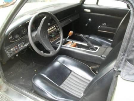 1973 Jensen Healey interior