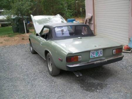1973 Jensen Healey left rear