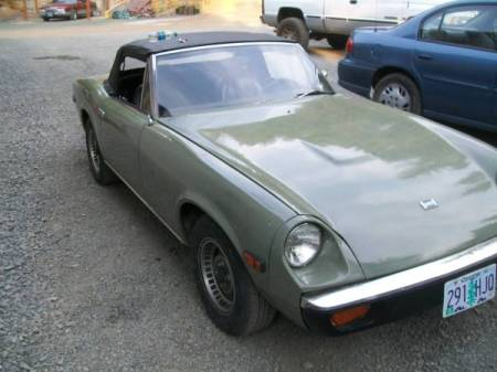 1973 Jensen Healey right front