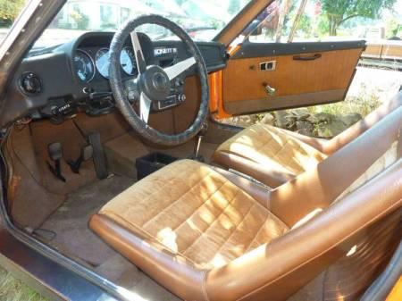 1973 Saab Sonett III 2 interior