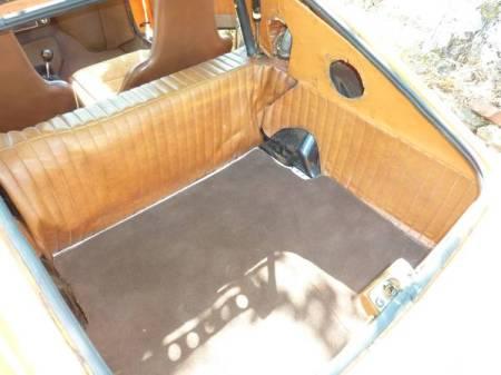 1973 Saab Sonett III 2 trunk