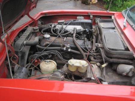 1975 Opel 1900 Ascona engine
