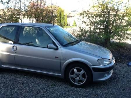1999 Peugeot 106 S16 GTI right front